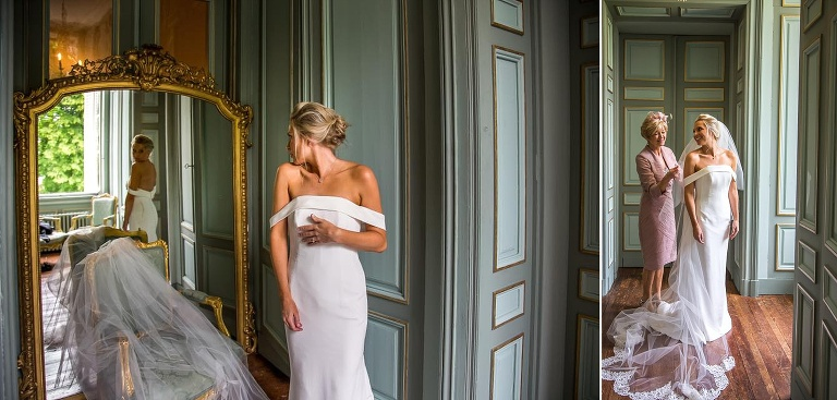 French Chateau Wedding - La Durantie - Hair and makeup artists