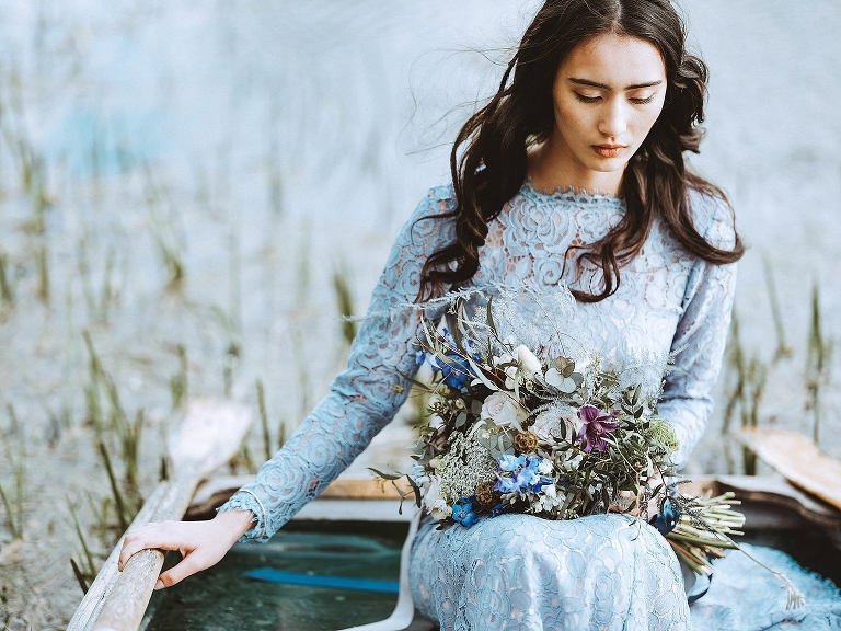 Jenn Edwards collaboration with Bijou Bride - Inspired by the sea