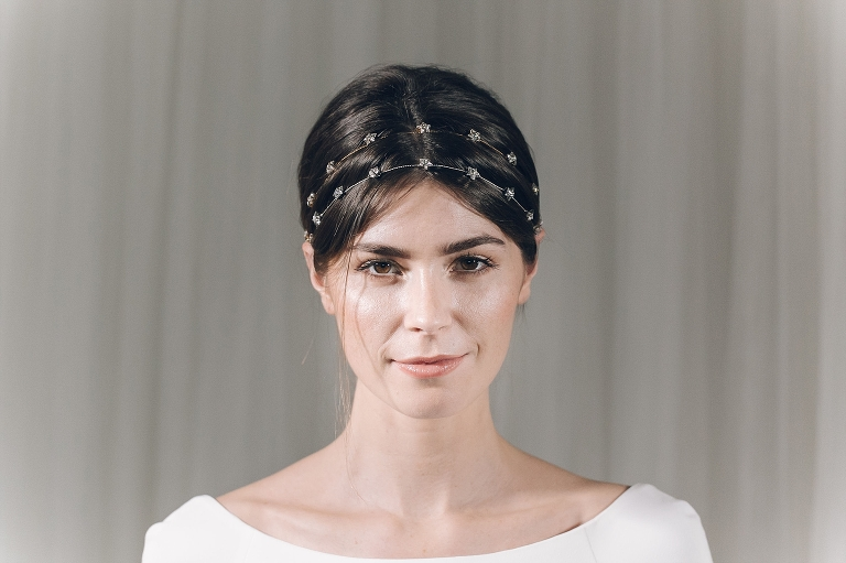 Jenn Edwards - The Right Bridal Headpiece for your wedding hairstyle